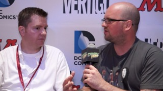 SDCC 2014 Charles Soule SUPERMAN: DOOMED, RED LANTERNS, SWAMP THING Interview