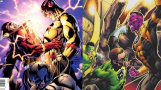 Favorite Comic Runs: Geoff Johns' FLASHPOINT vs. SINESTRO CORPS WAR