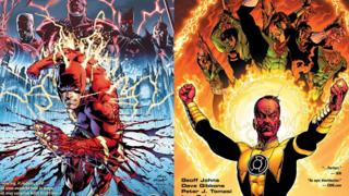 Favorite Comic Runs RESULTS: Geoff Johns' FLASHPOINT vs. SINESTRO CORPS WAR