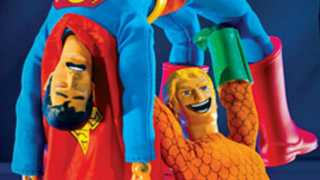 AQUAMAN Gets a Robot Chicken Variant Cover
