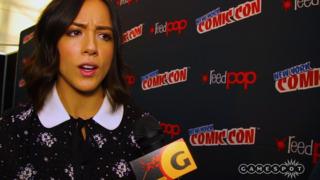 Agents of S.H.I.E.L.D. Talk Season 4 at New York Comic Con