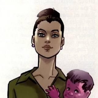 Deborah & baby Oliver