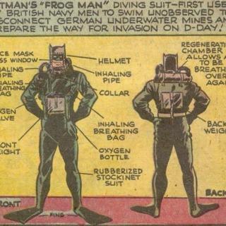 Batman's Frog Man Suit