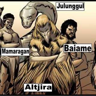 Aboriginal Gods(Australia)