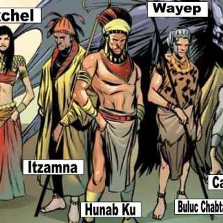 Ahau (Mayan Gods)