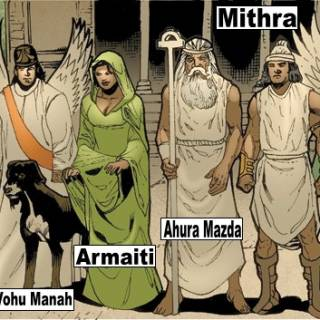 Yazata (Persian Gods)