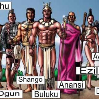 Vodu (African Gods)