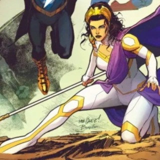 Hippolyta joins the Justice League