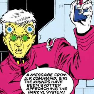 Incoming message - Legion of Super-Heroes #57