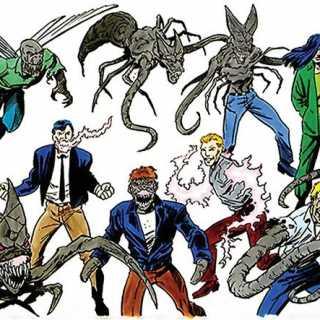 Harry Palmer & his Brood Mutants