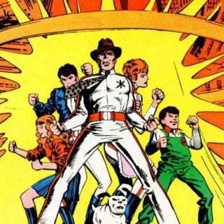 Adventures of the Outsiders #40 - cover