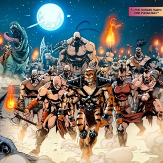 The Shokan Army.
