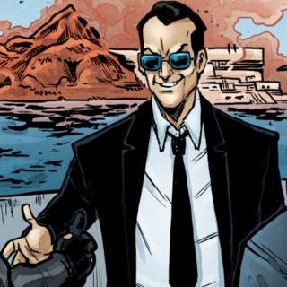 Agent John Bishop in the IDW comics.