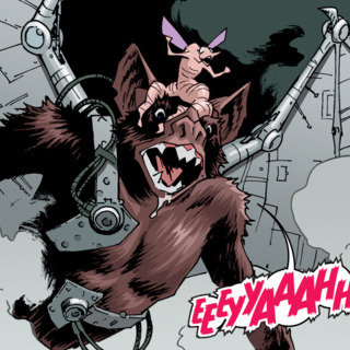 Wingnut and Screwloose in  Bebop & Rocksteady Destroy Everything #3.
