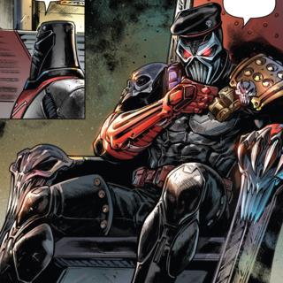 Iron Klaw in Revolutionaries #4.