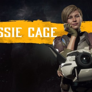 Cassie Cage in MK11.