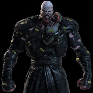 Nemesis in Resident Evil 3 Remake.