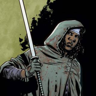 The Walking Dead: Michonne Special cover