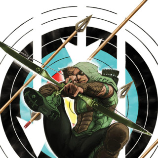 Green Arrow #44 textless variant by Kaare Andrews