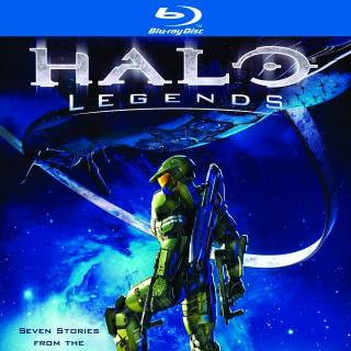 Halo: Legends Cover