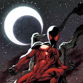Scarlet Spider # 1 (Bagley Variant)