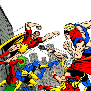 Buscema Avengers
