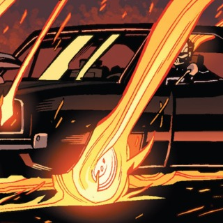 Ghost Rider's Car