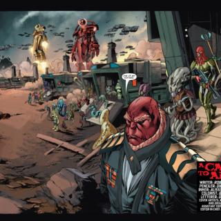 Armor Hunters - X-O Manowar #27