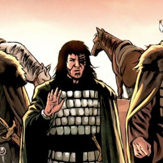 The Four Horsemen (Caspian, Kronos, Silas), Immortals from Highland: The Kurgan #2 (Dynamite, 2009)