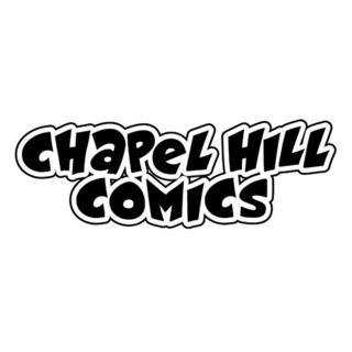 Chapel Hill Comics logo by Wander Lane/Andrew Neal