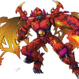 Transmetal 2 Megatron from Beast Wars