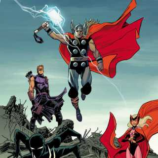 Thunderbolts/Dark Avengers #175 by Declan Shalvey