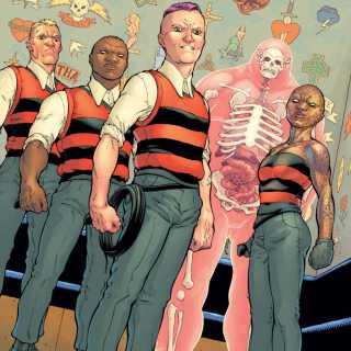 Omega Gang by Frank Quitely