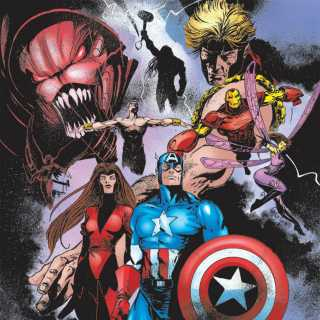 Avengers by Leonardo Manco