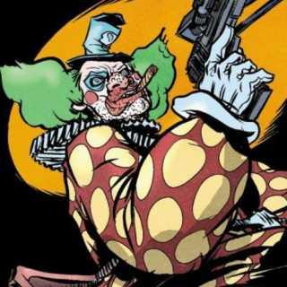 Clown by Nathan Fox