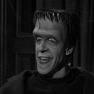 Herman Munster's second head style.
