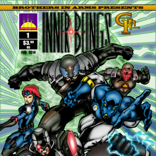 Inner Beings Issue #1 Cover