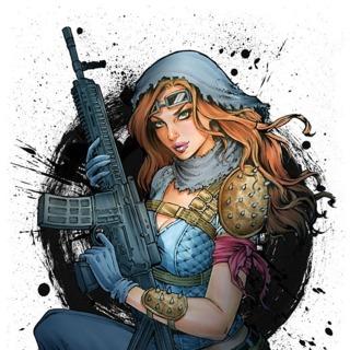 LolaXOXO: Wasteland Madam #2 art