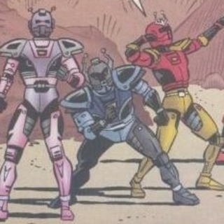 Power Ranger Borgs Metallix