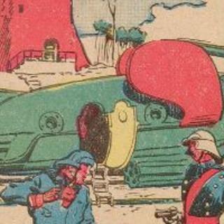 Super-Kruga rocket ship