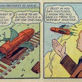 Lieutenant Dan Hastings' Rocket