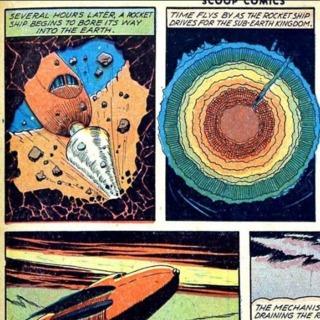 Dan Hasting's Earth boring rocket
