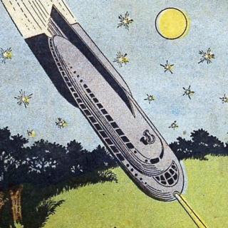 Radium bullion cargo rocketship