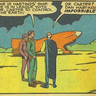 Dan Hastings rocketplane