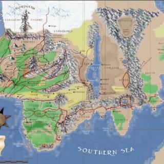Hyboria Map Color