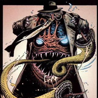 Worm from Swamp Thing 10