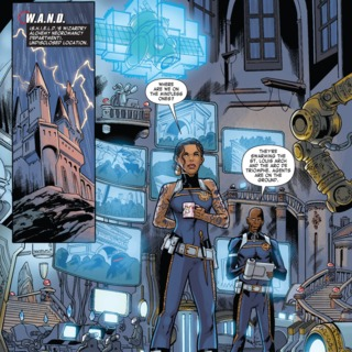W.A.N.D. Headquarters - Thunderbolts Annual #1 (2014)