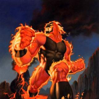 This is not surtur it is brimestone