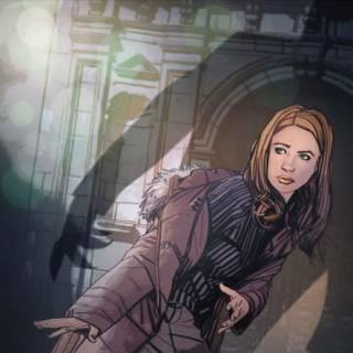 Amy Pond by Tommy Lee Edwards