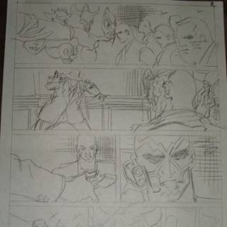 toms preliminary art for batman 484 all 22 pages